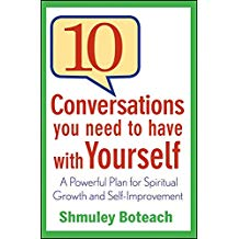 [10 Conversations You Need to Have with Yourself] (By: Shmuley Boteach) [published: September, 2011]