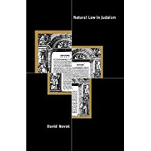 [(Natural Law in Judaism)] [By (author) David Novak] published on (March, 2008)