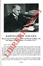 Bartolomeo Nogara.